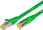 CAT6A HQ Patchkabel, S/FTP, LSOH, Lifetime Warranty, grün