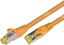 [PKW-KAT6A- 0.25 OR] CAT6A HQ Patchkabel, S/FTP, LSOH, Lifetime Warranty, orange (0.25)