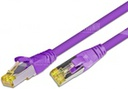 [PKW-KAT6A- 0.25 VI] CAT6A HQ Patchkabel, S/FTP, LSOH, Lifetime Warranty, violett (0.25)
